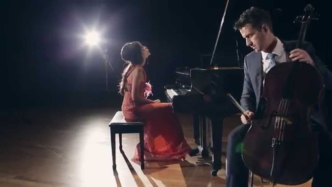 Toccata and Fugue in D minor by Van-Anh Nguyen (piano) & Chris Howlett (cello)