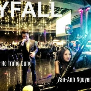 Skyfall cover by Ho Trung Dung Van-Anh Nguyen