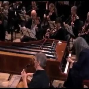 "Argerich Play ""Fortepiano"" 432HZ ! Beethoven piano concerto (Live concert video)"