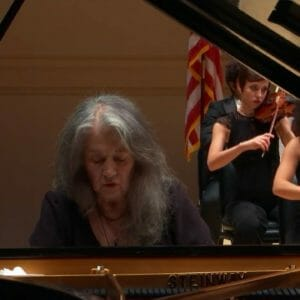 Sir Antonio Pappano with Martha Argerich – Prokofiev: Piano Concerto No. 3 in C Major
