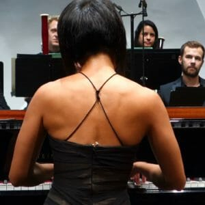 "Yuja Wang playing ""Alla Turca"" from Mozart/Fazil Say"