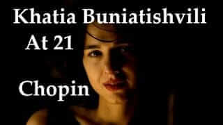 Khatia Buniatishvili Chopin Ballade No 4 in F minor Op 52