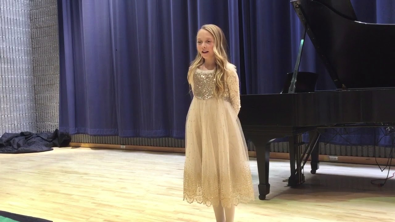 11 Year Old Pianist Performing at 2018 Festival of Arts