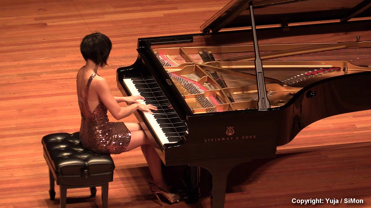 Yuja Wang Schubert Liszt Gretchen am spinnrade (SiMon)