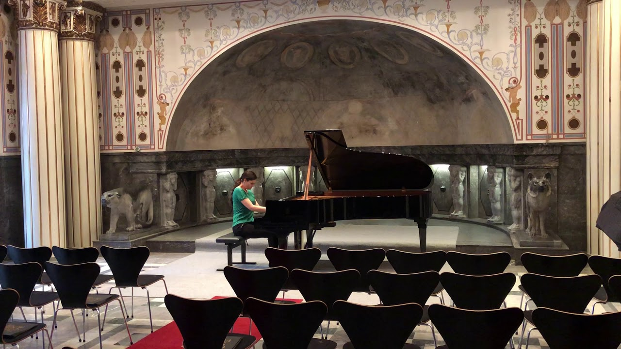 "Scooter / Sven Helbig ""How much is the fish"" warming up before a concert , Olga Scheps"