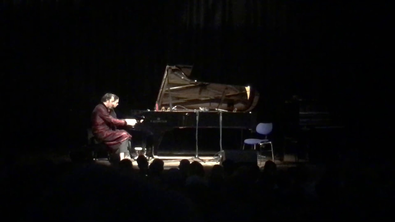 Chilly Gonzales and Olga Scheps play together