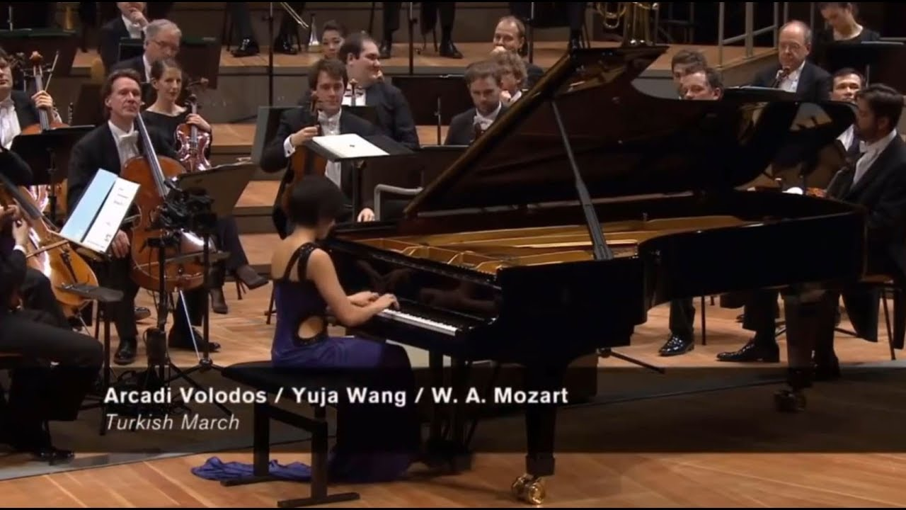 Arcadi Volodos / Yuja Wang – W. A. Mozart [Turkish March]
