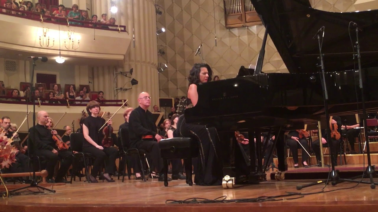 Khatia Buniatishvili | Composition by Ana Kakhidze