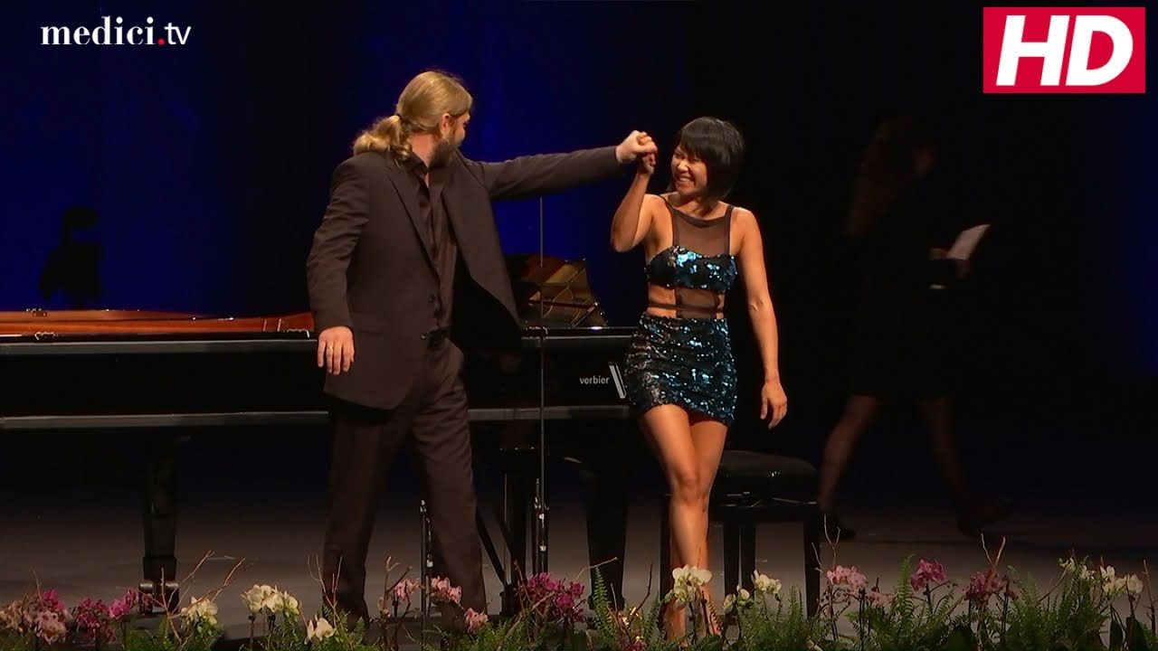 Yuja Wang and Denis Kozhukhin – Witold Lutosławski: Paganini variations for Two Pianos
