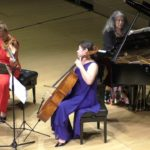 Pianist Martha Argerich, Violinist Maria Solozobova, and Cellist Meehae Ryo