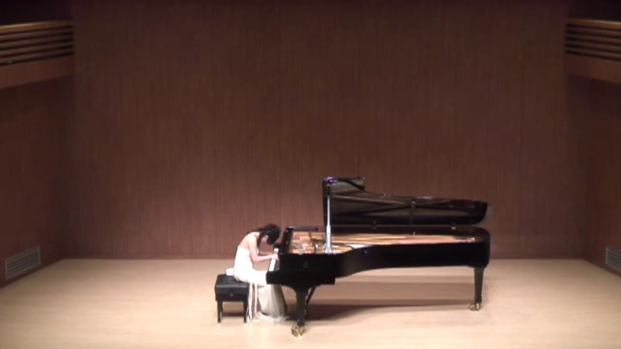 피아니스트 김연정: Chopin: Scherzo No. 2 in B flat minor, Pianist Yeon-Jung Kim