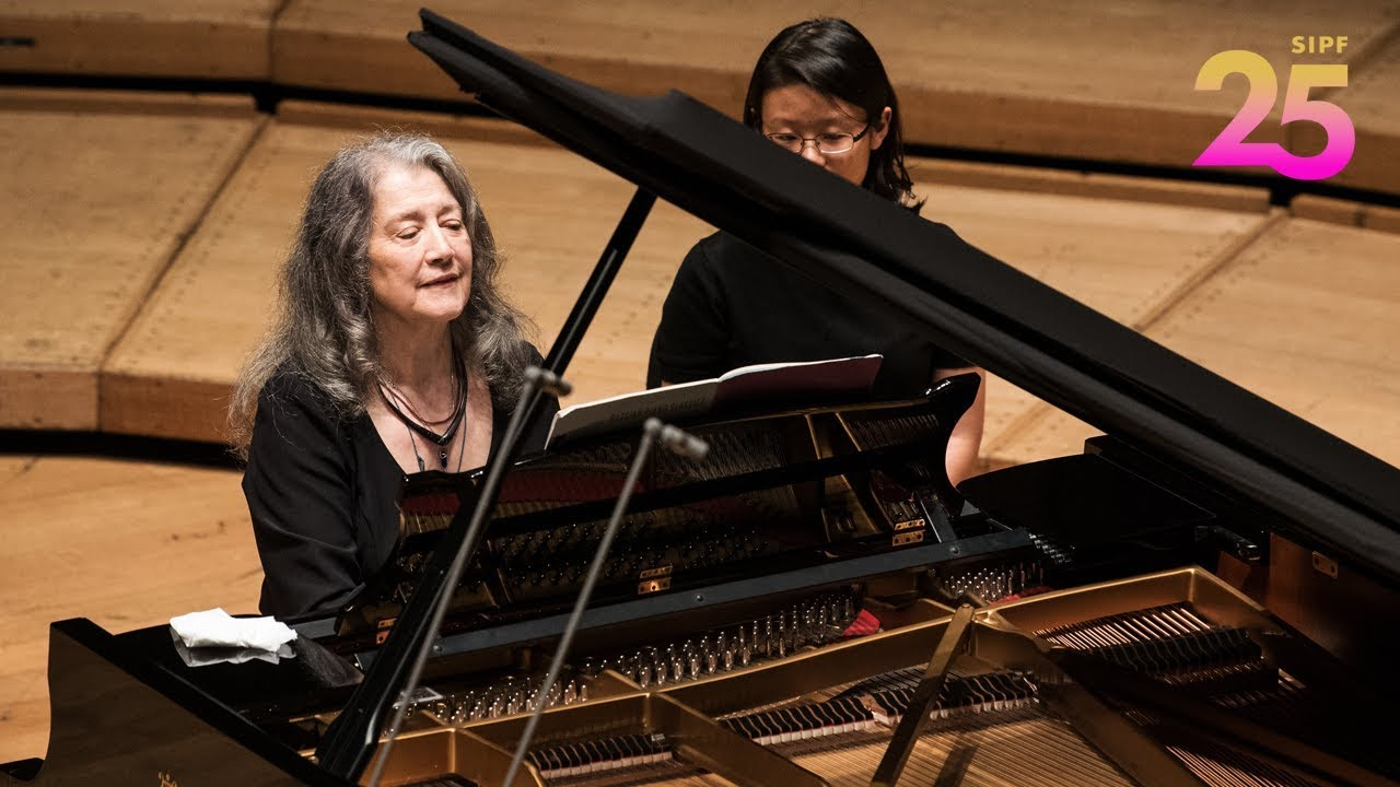 Martha Argerich and Darío Ntaca in Recital – RACHMANINOV Suite No 2, Op 17, II. Waltz